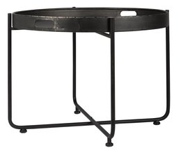 Ronde metalen tafel Brooklyn