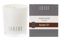 JANZEN Parfumkaars Brown 51